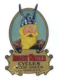 Robert Whiter cycles decal