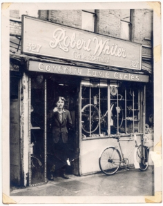Robert Whiter's shop in Wood Green